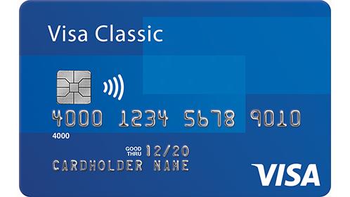 Visa Credit Debit