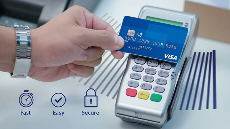 Visa Contactless Shopping
