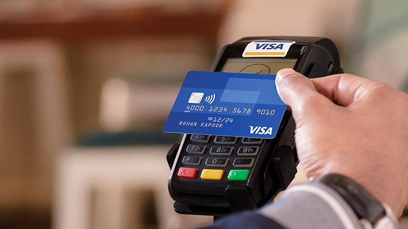 Pay to pay with Visa contactless
